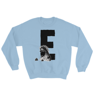 Moomin Alphabet sweatshirt - E as in Edward The Booble
