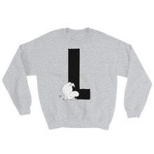 Load image into Gallery viewer, L - Moomin Alphabet Sweatshirt - feat. Moomin