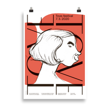 Load image into Gallery viewer, Tove festival poster