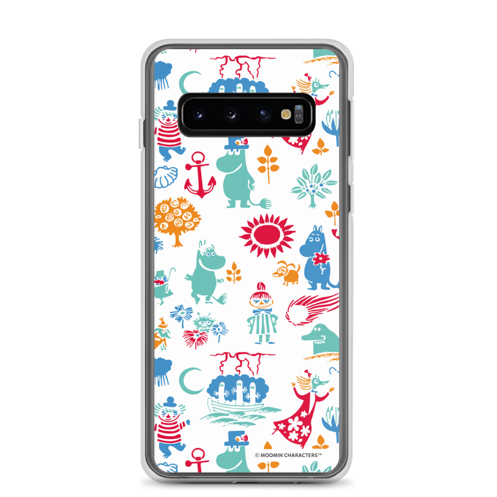 Moomin valley Samsung case