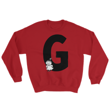 Load image into Gallery viewer, G - Moomin Alphabet Sweatshirt - feat. Little My