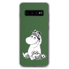 Load image into Gallery viewer, Snorkmaiden Samsung case forest green