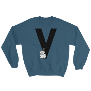 V - Moomin Alphabet Sweatshirt - feat. Little My