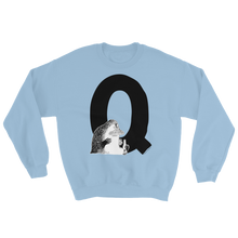 Load image into Gallery viewer, Q - Moomin Alphabet Sweatshirt - feat. the Groke