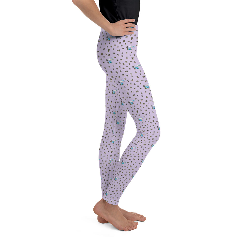 Mauri Kunnas Mr Clutterbuck Alphabet Youth Leggings Skandibrand