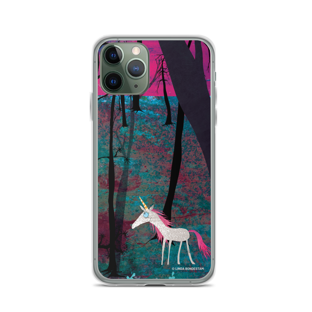 Linda Bondestam unicorn iPhone case