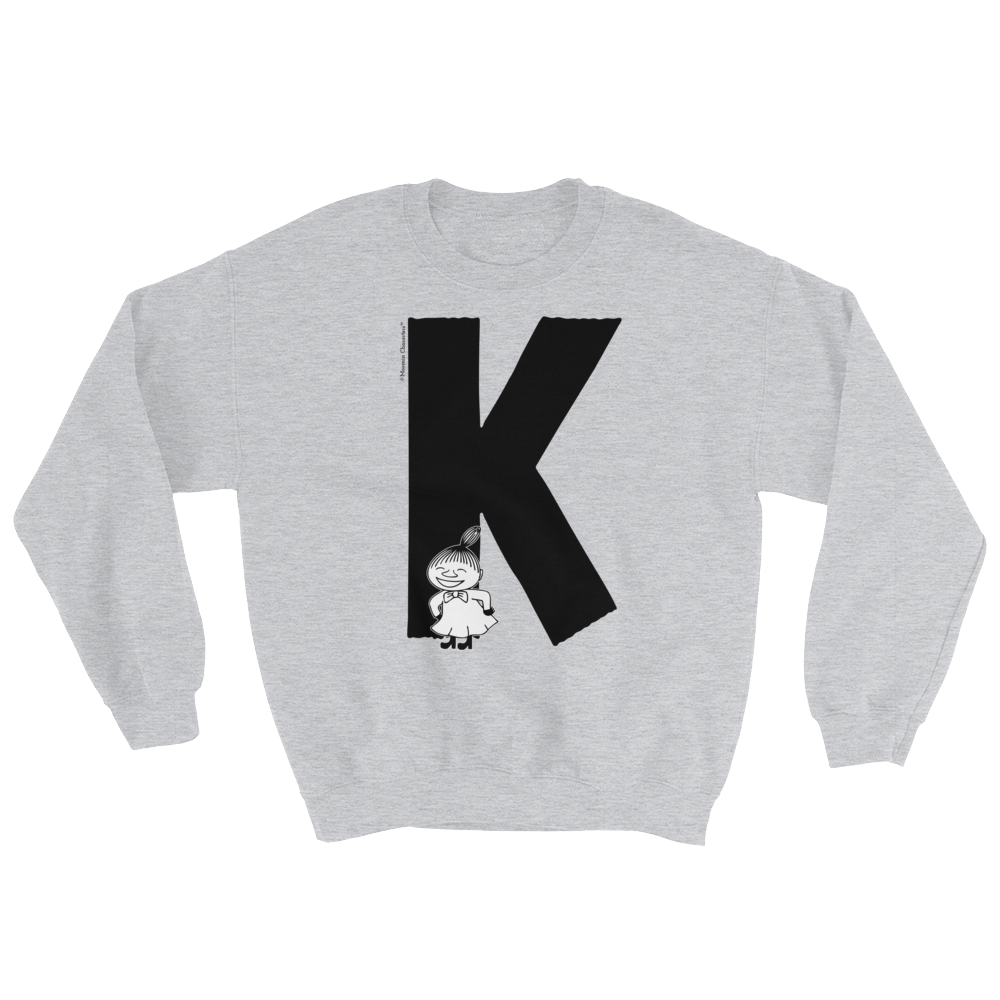 K - Moomin Alphabet Sweatshirt - feat. Little My