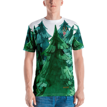 Load image into Gallery viewer, Gigglebug Forest Men's Crew Neck T-Shirt Skandibrand