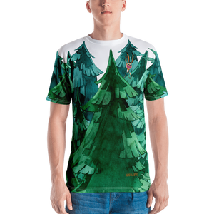 Gigglebug Forest Men's Crew Neck T-Shirt Skandibrand