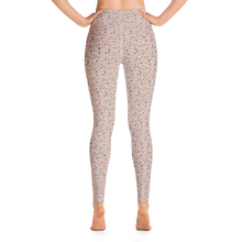 Load image into Gallery viewer, Snufkin flower garden coconut yoga leggings