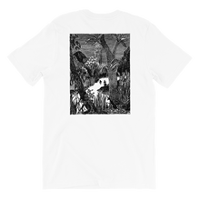Load image into Gallery viewer, Moomin Snufkin forest Short-Sleeve Unisex T-Shirt Skandibrand
