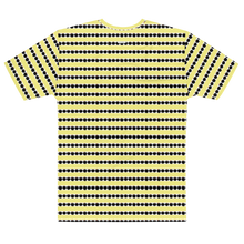Load image into Gallery viewer, Button and Popper apple stripes T-shirt