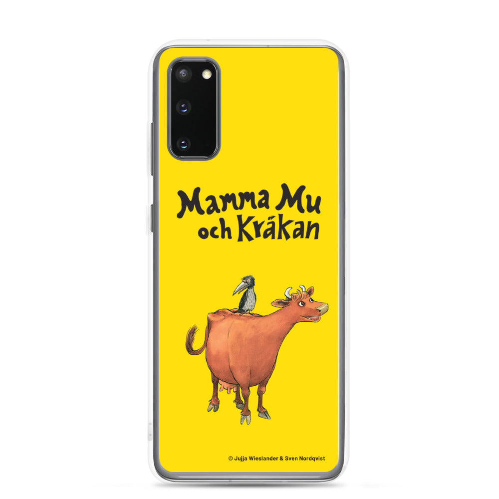 Mamma Moo and the Crow Samsung Case in yellow