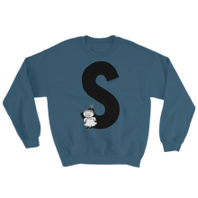 Load image into Gallery viewer, S - Moomin Alphabet Sweatshirt - feat. Little My