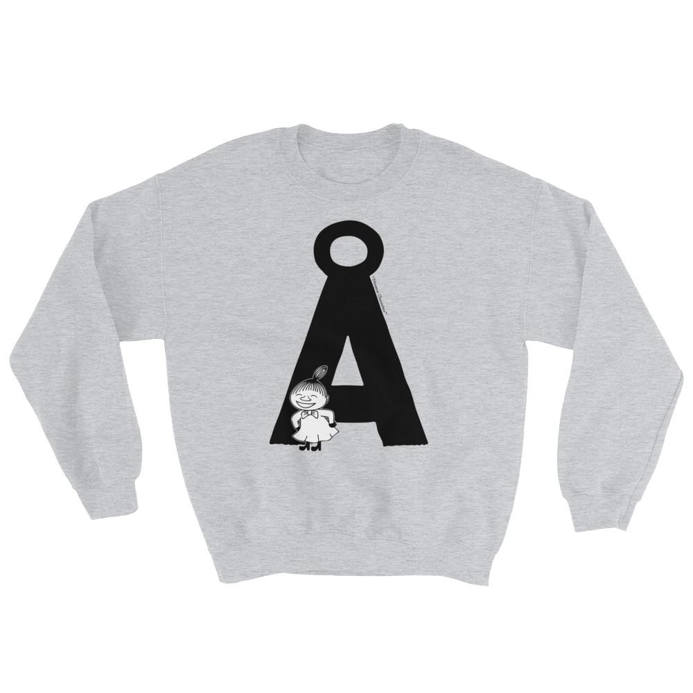 Å - Moomin Alphabet Sweatshirt - feat. Little My