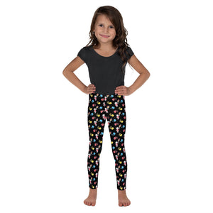 Little Anna Kid's Leggings in black