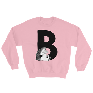 B - Moomin Alphabet Sweatshirt - feat. the Groke