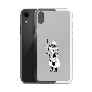 Snufkin iPhone case grey