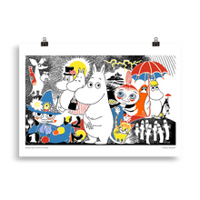 Load image into Gallery viewer, Moomin Comic book cover 1 Poster Skandibrand