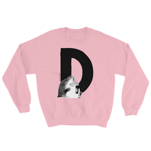 D - Moomin Alphabet Sweatshirt - feat. the Groke