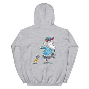 Mr Clutterbuck Skateboard Hooded Sweatshirt