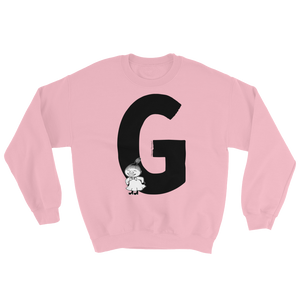 G - Moomin Alphabet Sweatshirt - feat. Little My