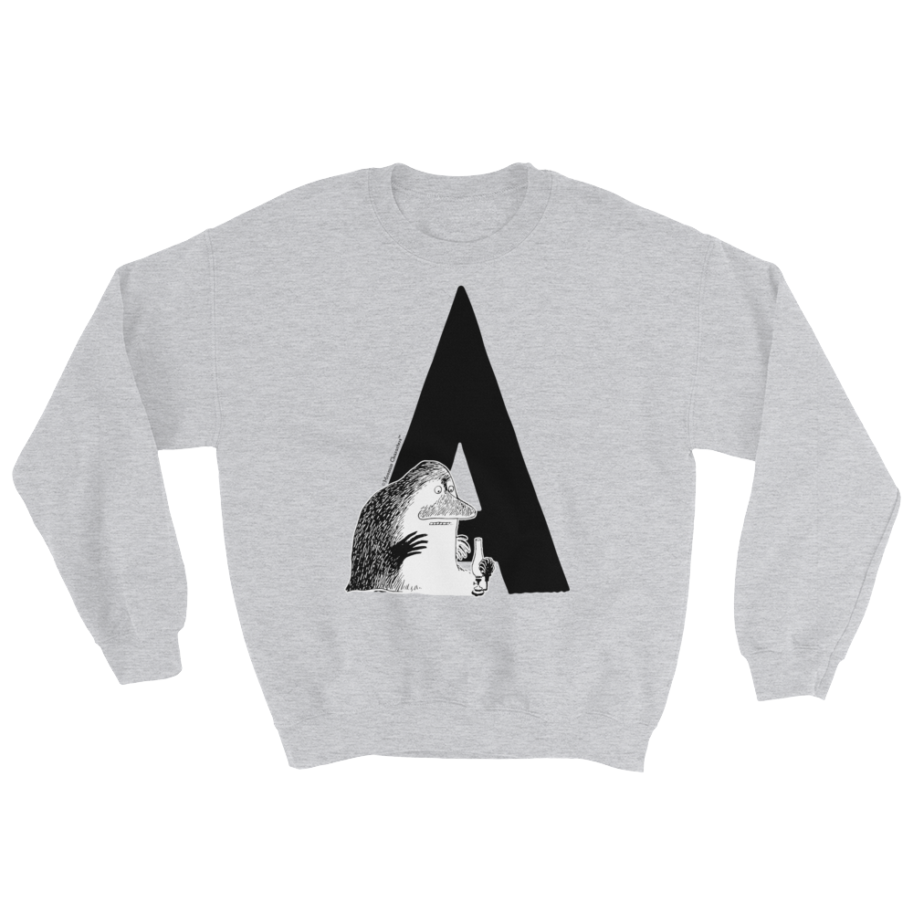 A - Moomin Alphabet Sweatshirt - feat. the Groke