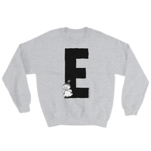 Load image into Gallery viewer, E - Moomin Alphabet Sweatshirt - feat. Little My