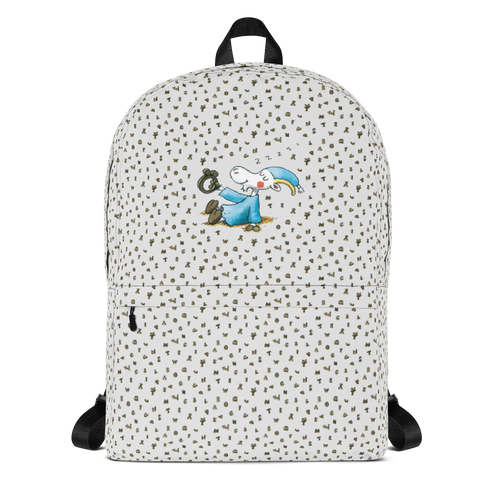 Mr Clutterbuck Alphabet Backpack Skandibrand