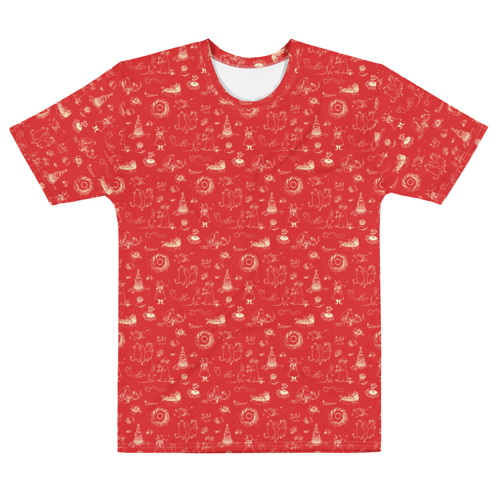 Comet adventure t-shirt red