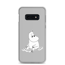 Load image into Gallery viewer, Moomin Samsung case grey