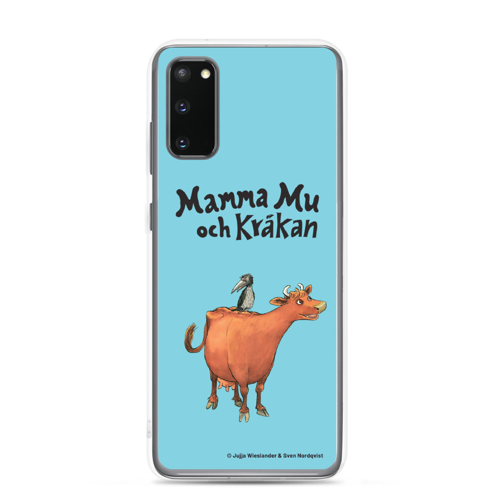 Mamma Moo and the Crow Samsung Case in blue