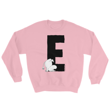 Load image into Gallery viewer, E - Moomin Alphabet Sweatshirt - feat. Moomin