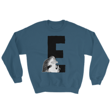 Load image into Gallery viewer, E - Moomin Alphabet Sweatshirt - feat. the Groke