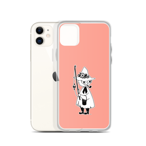 Snufkin iPhone case pink