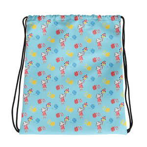 Little Anna Drawstring bag in blue