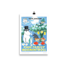 Load image into Gallery viewer, Moomin poster - Finn Family Moomintroll