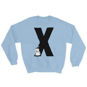X - Moomin Alphabet Sweatshirt - feat. Little My