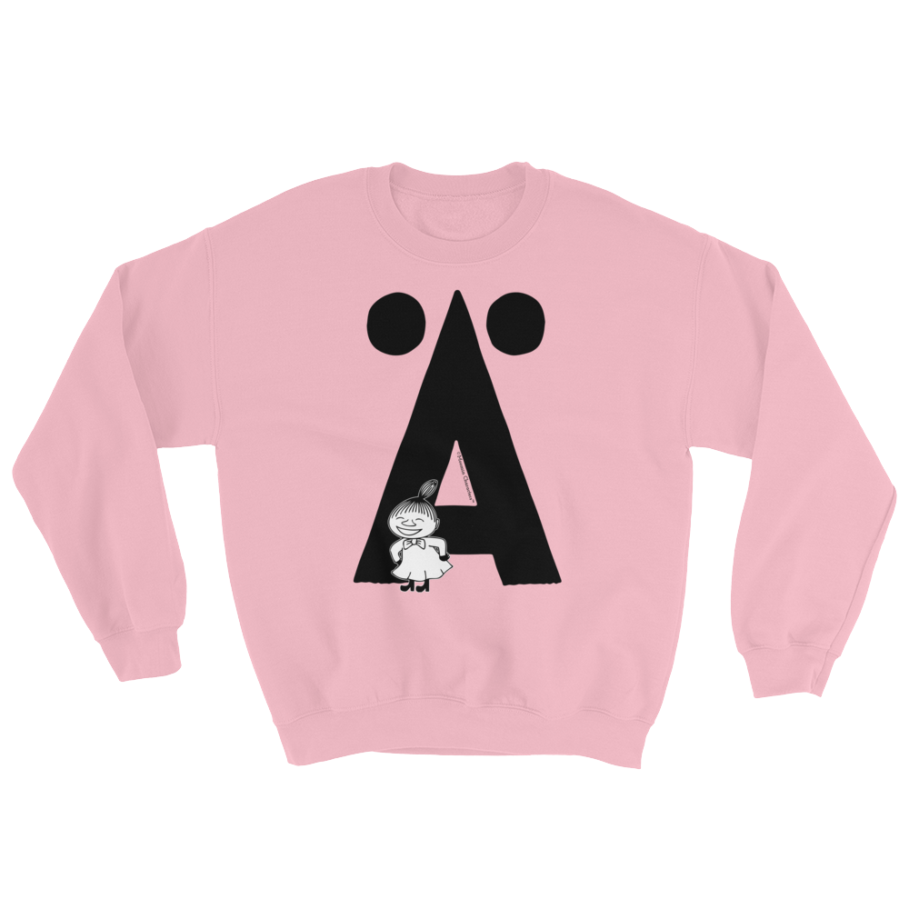 Ä - Moomin Alphabet Sweatshirt - feat. Little My