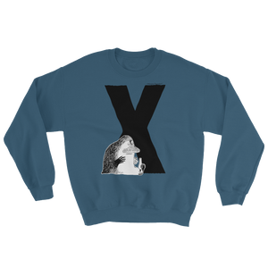 X - Moomin Alphabet Sweatshirt - feat. the Groke