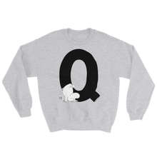 Load image into Gallery viewer, Q - Moomin Alphabet Sweatshirt - feat. Moomin