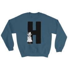 Load image into Gallery viewer, H - Moomin Alphabet Sweatshirt - feat. Snufkin