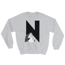 Load image into Gallery viewer, N - Moomin Alphabet Sweatshirt - feat. the Groke