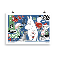 Load image into Gallery viewer, Moomin Comic book cover 4 Poster Skandibrand