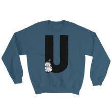 Load image into Gallery viewer, U - Moomin Alphabet Sweatshirt - feat. Little My