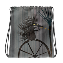 Load image into Gallery viewer, Lind Bondestam porcupine drawstring bag