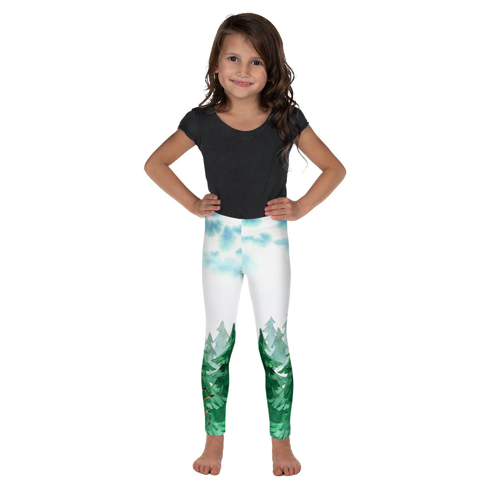 Gigglebug Kid's Leggings Forest Skandibrand