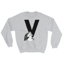 Load image into Gallery viewer, V - Moomin Alphabet Sweatshirt - feat. the Groke