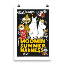 Load image into Gallery viewer, Moomin poster - Moominsummer Madness