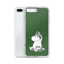 Load image into Gallery viewer, Snorkmaiden iPhone case forest green